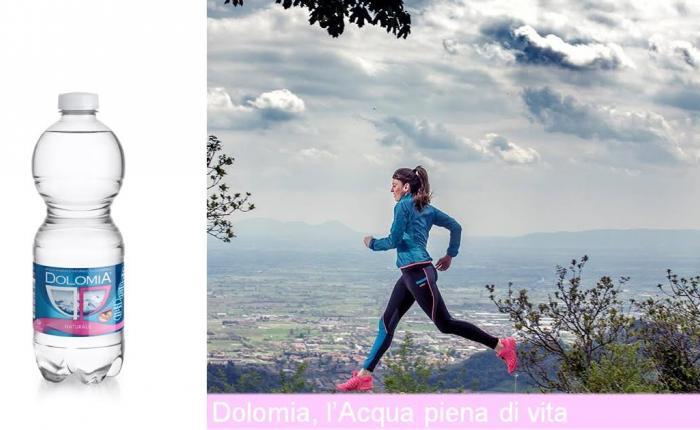 Acqua Dolomia fornitore ufficiale di CMP Trail Bassano