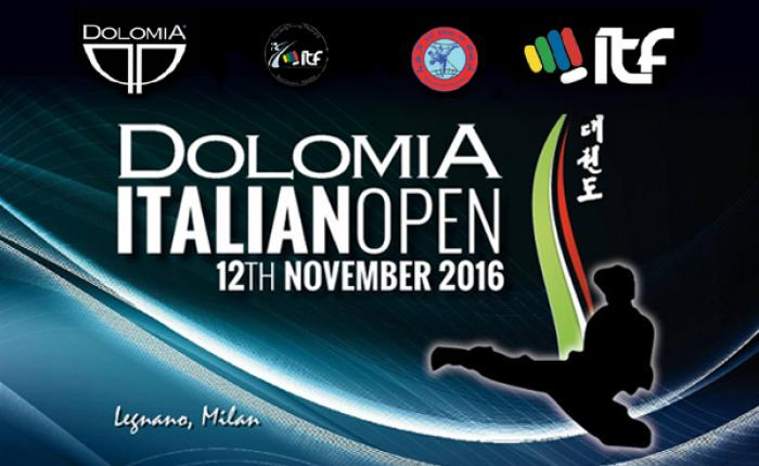 Dolomia Italian Open Taekwon-Do ITF 2016